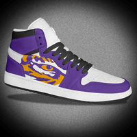 Hightop Purple Air Sports Sneaker Shoes Nike Jordan