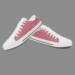 Low Top Sneakers Casual Shoes For Woman