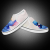 Hot Fashion Knitted Upper Slip On Running Sneakers Casual Shoe