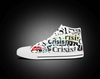 White High Top Women Casual Shoes Similar Converse