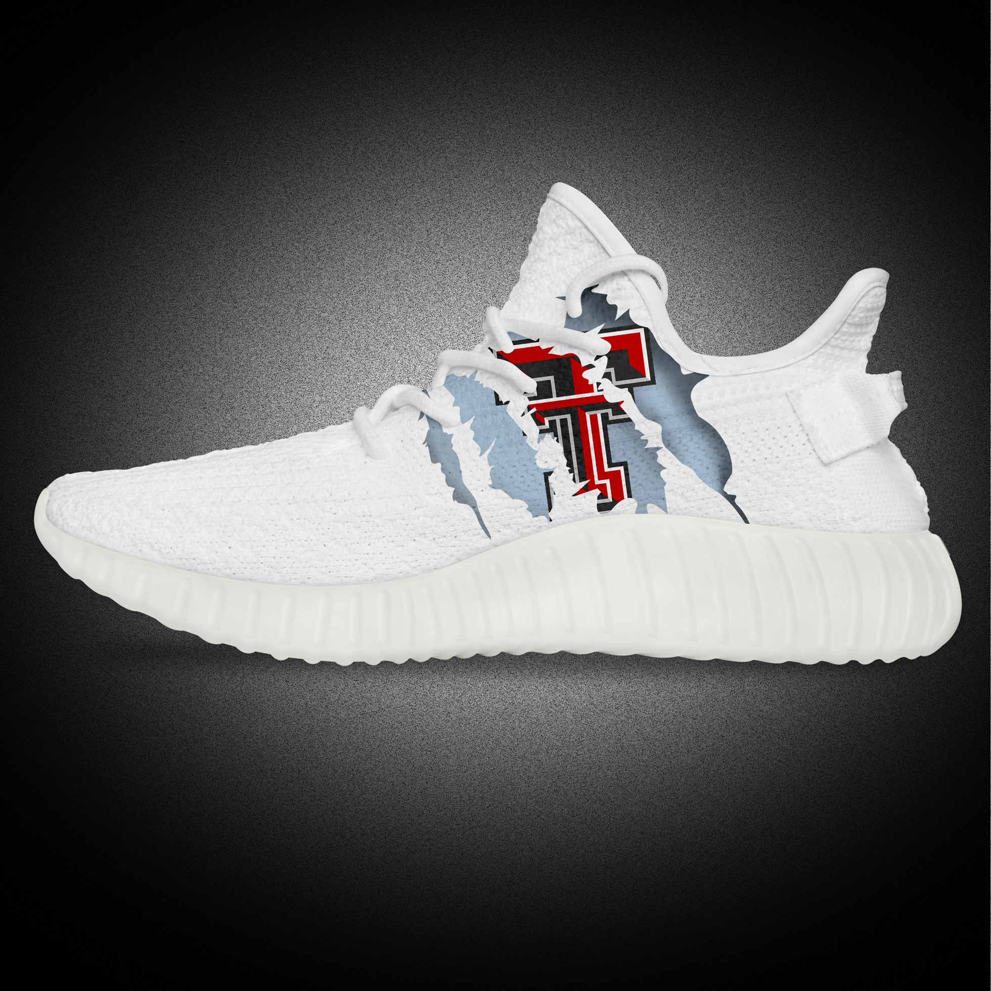 Classic White Print Yeezy Original Sport Shoes for Men And Women