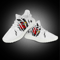 Custom Fly Knitted Easy Street Outdoor Sport Running Shoes
