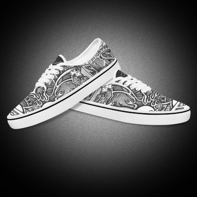 Custom Big Size Favorite Men Flat Loafers Vans Canvas Shoes For Boys