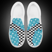 Easy Wear Slip on Vans Canvas Shoes For Women And Men